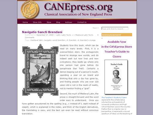 Cane Press website